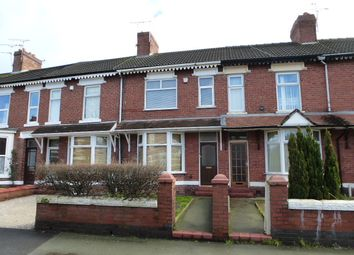 Thumbnail 3 bed terraced house to rent in Ruskin Road, Crewe, Cheshire