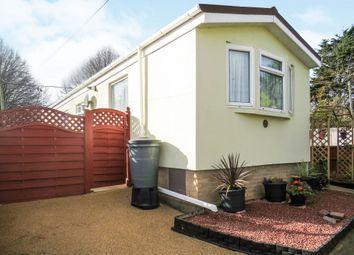 Thumbnail 2 bedroom mobile/park home for sale in Rydon Park, Rydon Lane, Exeter