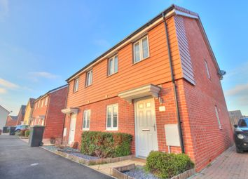 Thumbnail 2 bed semi-detached house for sale in River Way, Great Blakenham, Ipswich