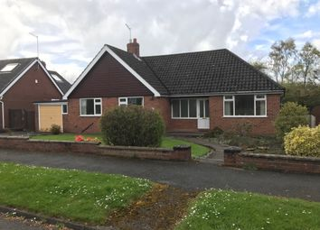 Thumbnail 4 bed detached bungalow for sale in Rossall Avenue, Newcastle-Under-Lyme