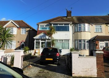 Thumbnail 3 bed end terrace house for sale in Derwent Road, Southall