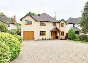 Thumbnail 4 bed detached house for sale in Pishiobury Drive, Sawbridgeworth, Hertfordshire