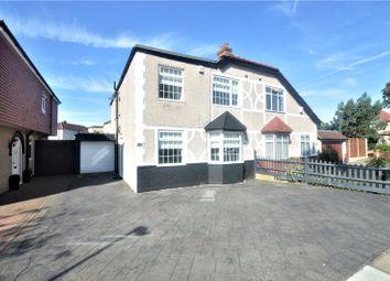 Thumbnail 3 bed semi-detached house for sale in Burnt Oak Lane, Sidcup, Kent