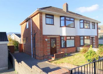 Thumbnail 3 bed semi-detached house for sale in Daren Close, Maesteg, Mid Glamorgan