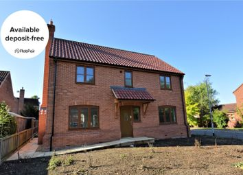 Thumbnail 4 bed detached house to rent in Jessopp Close, Scarning, Dereham