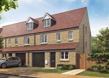 "Thumbnail 4 bed terraced house for sale in ""The Rockingham "" at Dukeminster Estate, Dunstable"