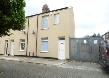 Thumbnail 3 bed end terrace house to rent in Wren Street, Stockton-On-Tees