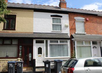 Thumbnail 3 bed terraced house for sale in Preston Road, Yardley, Birmingham