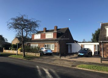 Thumbnail 3 bedroom semi-detached house to rent in Orchard Close, Eaton Ford, St. Neots
