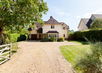 Thumbnail 4 bed detached house for sale in Vicarage Road, Belchamp St. Paul, Sudbury