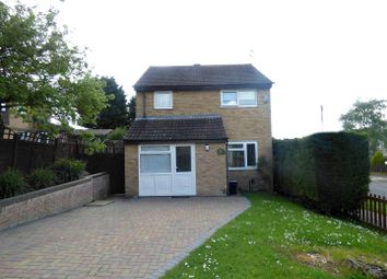 Thumbnail 3 bed detached house for sale in Bracken Drive, Rugby
