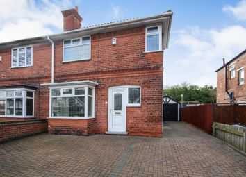 Thumbnail 3 bed semi-detached house for sale in Teesdale Road, Sherwood, Nottingham