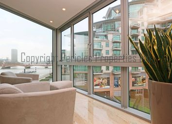 Thumbnail 2 bed flat to rent in The Tower, One St George Wharf, London