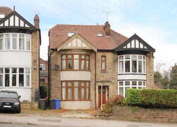 Thumbnail 4 bed semi-detached house for sale in Ecclesall Road South, Sheffield, South Yorkshire