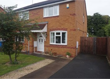 Thumbnail 2 bed semi-detached house to rent in Millennium Way, Wolverhampton
