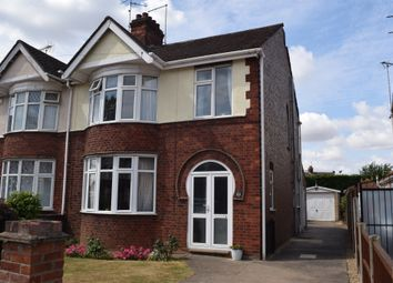 Thumbnail 3 bed semi-detached house for sale in Vere Road, Peterborough