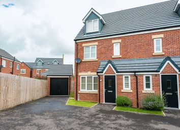Thumbnail 4 bed semi-detached house for sale in Flour Mill Close, Burscough, Ormskirk