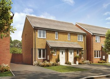 """Thumbnail 2 bed end terrace house for sale in """"The Alnwick"""" at Goshawk Green, Leighton Buzzard"""