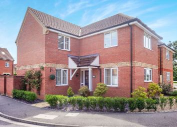 Thumbnail 4 bed detached house for sale in The Brambles, Market Rasen