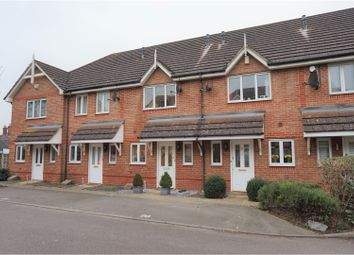 Thumbnail 2 bed terraced house for sale in Campbell Close, Byfleet