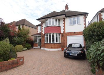 Thumbnail 5 bed detached house to rent in Boleyn Avenue, Ewell, Surrey