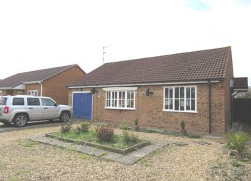 Thumbnail 2 bed detached bungalow for sale in Fairfields, Holbeach, Spalding