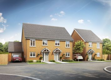Thumbnail 3 bedroom semi-detached house for sale in Swales Drive, Leighton Buzzard