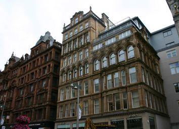 Thumbnail 1 bed flat to rent in Buchanan Street, Glasgow