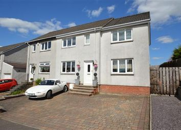 Thumbnail 4 bed semi-detached house for sale in Newton Road, Lenzie, Glasgow