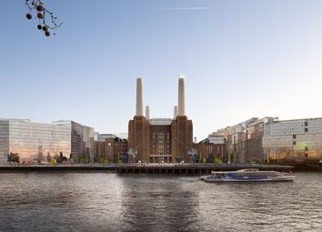 Switch House West, Battersea Power Station, London SW8. 3 bed flat for sale