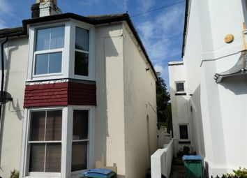 Thumbnail 1 bedroom maisonette to rent in Glamis Street, Bognor Regis