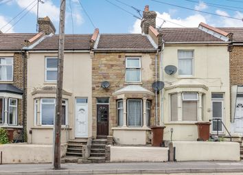 Thumbnail 3 bed terraced house for sale in Frindsbury Road, Rochester