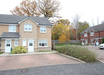 Thumbnail 3 bed end terrace house to rent in Kingfisher Court, Motherwell