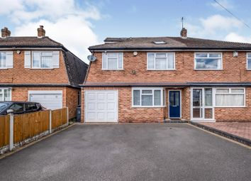 Thumbnail 4 bed semi-detached house for sale in Green Bank Avenue, Hall Green, Birmingham