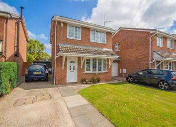 Thumbnail 3 bed detached house for sale in Appley Close, Eaglescliffe, Stockton-On-Tees