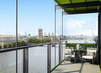 Thumbnail 3 bed flat for sale in Merano Residences, Albert Embankment, London
