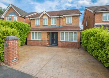 Thumbnail 5 bedroom detached house for sale in Brayford Drive, Aspull, Wigan