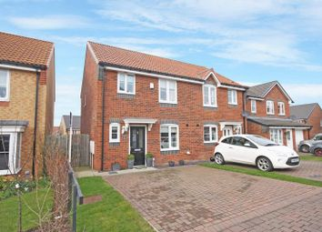 Thumbnail 3 bed semi-detached house for sale in Stratton Close, Brotton, Brotton