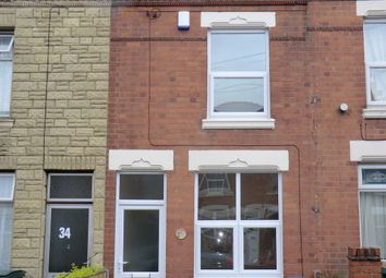 Thumbnail 3 bed terraced house for sale in Marlborough Road, Coventry