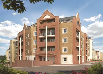Thumbnail 3 bed flat for sale in Edison House, Flambard Way, Godalming