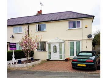 Thumbnail 3 bed semi-detached house for sale in Gorsefield Road, Conwy