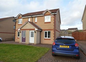 Thumbnail 2 bed semi-detached house for sale in Craigsmill Wynd, Caldercruix, Airdrie
