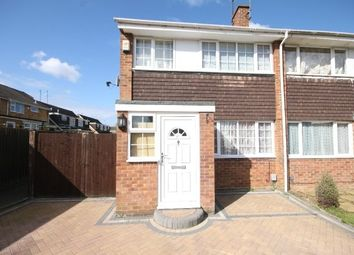 Thumbnail 3 bed semi-detached house to rent in Dalby Close, Luton
