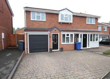 4 bed semi-detached house for sale in Althorp Way, Stretton, Burton-On-Trent DE13