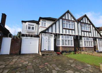 Thumbnail 4 bed semi-detached house for sale in Kings Drive, Edgware, Greater London.