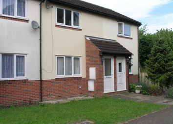 Thumbnail 1 bed terraced house to rent in Carnation Drive, Saffron Walden, Essex