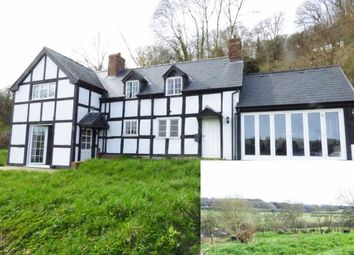 Thumbnail 3 bed detached house for sale in Fron, Montgomery