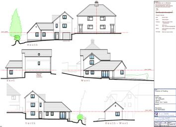 Thumbnail 4 bedroom land for sale in Lapford, Crediton