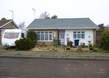 Thumbnail 2 bed detached bungalow for sale in Mill Way, Friday Bridge, Wisbech