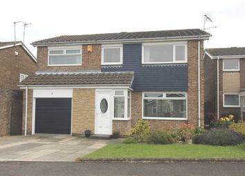 Thumbnail 4 bed detached house for sale in Torcross Way, Parkside Grange, Cramlington